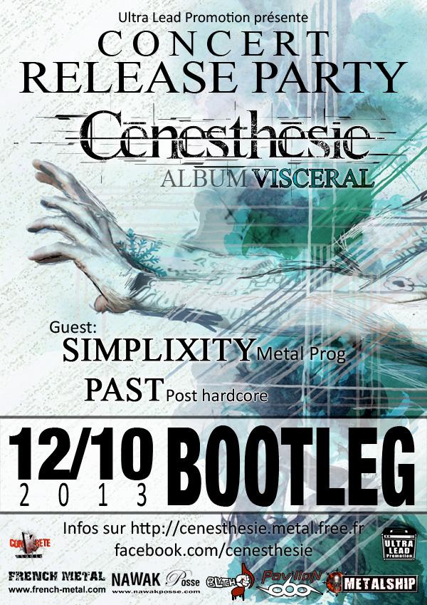 Cenesthesie présente Visceral @ Bordeaux
